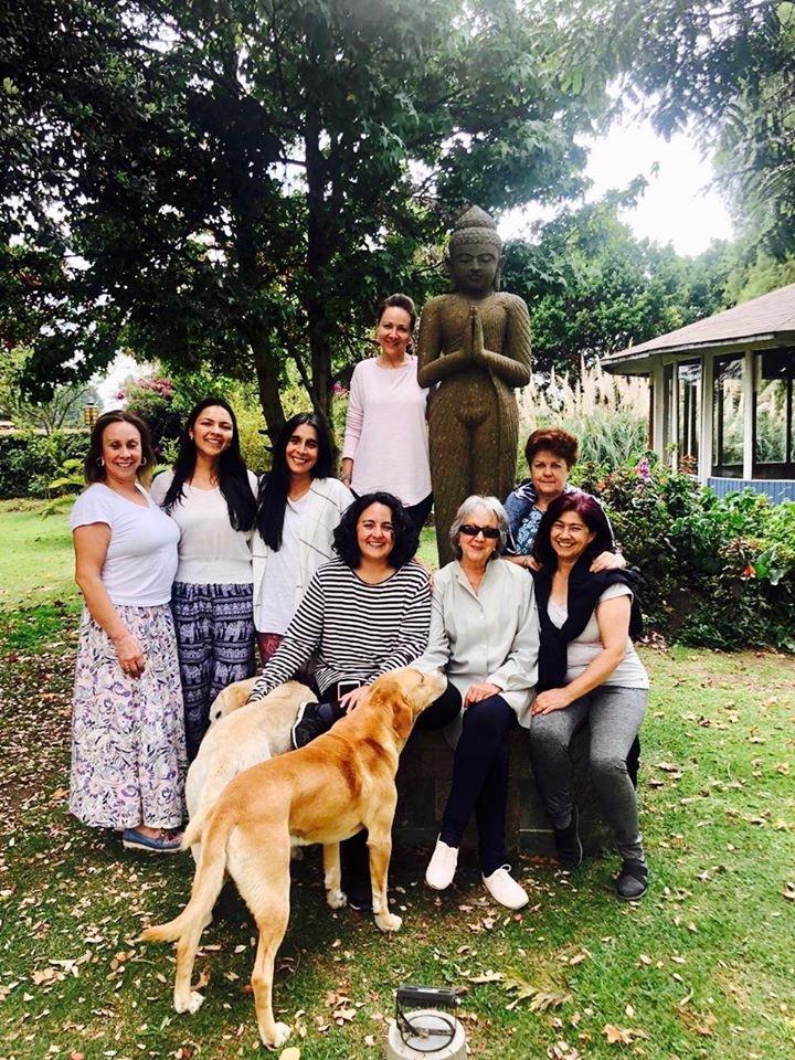 Siempre es lindo conectar, danzar, meditar, celebrar con la Manada y este año... más del Buda Interior!!